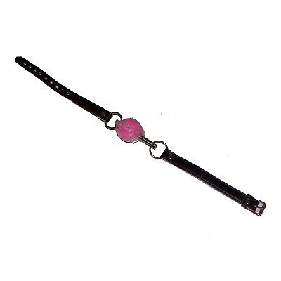 TheSexShopOnline - Solid Pink Ball Gag With Bar Restraint Bondage Fetish 3