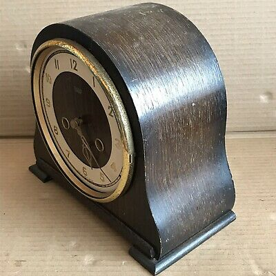 Vintage Smiths Mantle Clock - Pendulum Movement Marked 535 3
