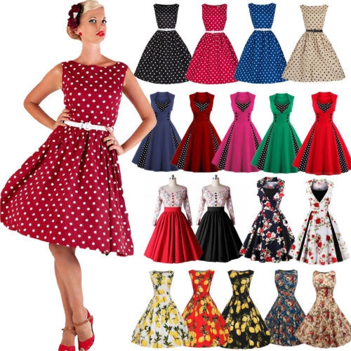summer womens   vintage retro rockabilly party