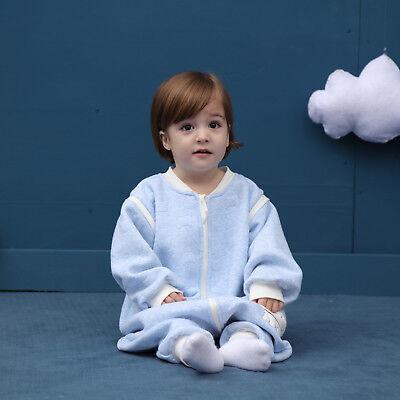 Baby Toddler Kids 100% Cotton Wearable Organic Blanket Sleeping Bag Winter Wrap 11