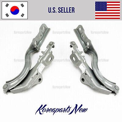 Hood Hinge Sonata 2011-2014 Right /& Left Sides Brand New Original Hyundai