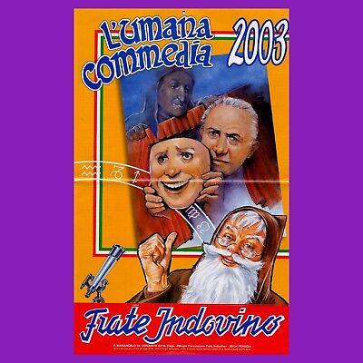 Calendario Frate Indovino.1 Pz Calendario Frate Indovino 1980 Almanacco Giardinaggio Indovinelli Padre Pio