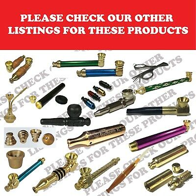 6 Cone Pieces Brass cone Piece metal smoking pipe bong pipe water pipe Bonza 2