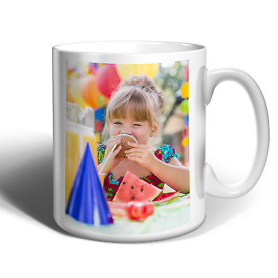 Personalised Photo Mug Cup Custom Printed With You're Picture 2