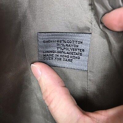 Le Collezioni Structure Brown Velvet 3 Button Suit Jacket Sport Coat Men's Large 6