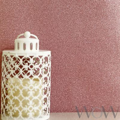 Luxe Glitter Sparkle Wallpaper Rose Gold - World Of Wallpaper Wwc015 Sparkle New