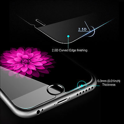 2 X Tempered Glass Screen Protector For Apple iPhone X XS MAX 8 7 6 Plus 6S 5 XR 3
