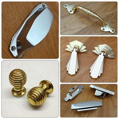 Brass Escutcheons Keyhole Cover Door Knobs Handles Lock Knocker Plates 8