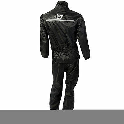 Oxford Rainseal Motorcycle Motorbike Over Suit Riding Oversuit S-6XL Black 4