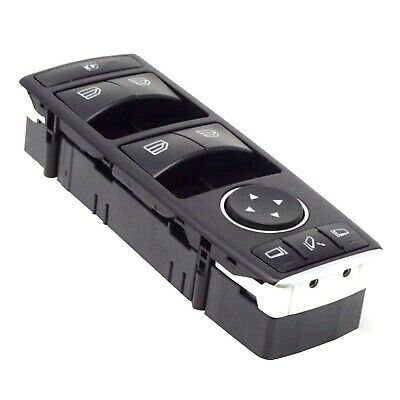 pulsantiera Mercedes ML W166 GLK X204 interruttore alzacristalli NUOVA Completa