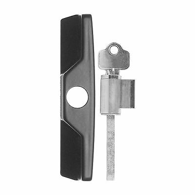 Rolltrak Spares Sliding Patio Door Lock Setc4 Key Cylinder Black