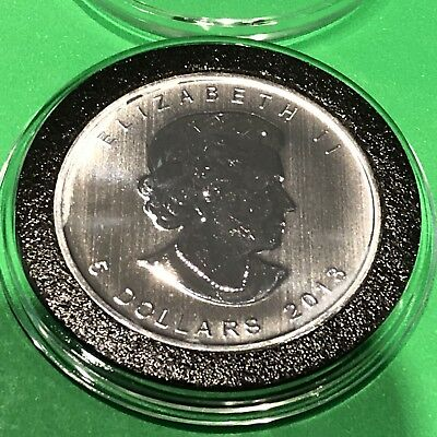 2013 Canada Maple Leaf Collectible Coin 1 Troy Oz .9999 Fine Silver Round Medal 6