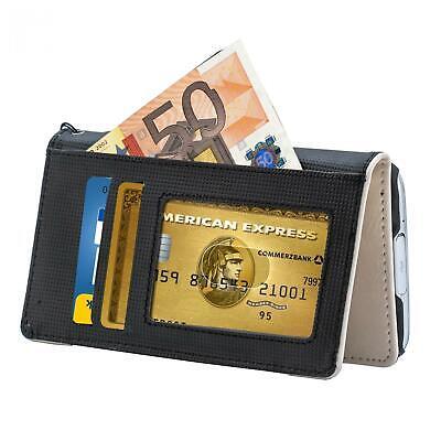 Handy Tasche LG Optimus Speed / Optimus P880 Schutz Hülle Wallet Case Flip Cover 4