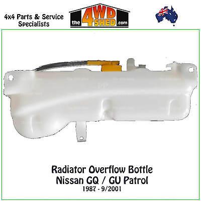 Radiator Overflow Bottle suits Nissan GQ GU Patrol / Ford Maverick - NEW