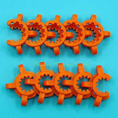 14# Lab Plastic Keck Clamp Clip for 14/23(14/20) Glass Joints 10PCS 3