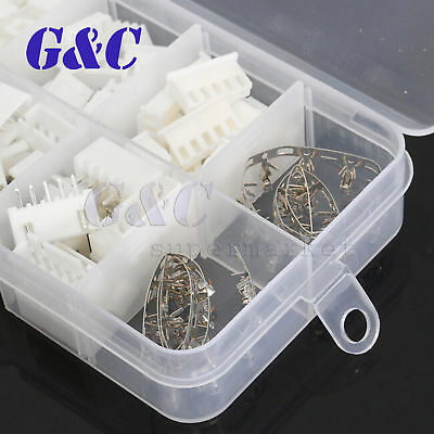 40 Sets JST 2~5Pin 2.5mm XH Male Female Housing Connector with Crimps Kit 8