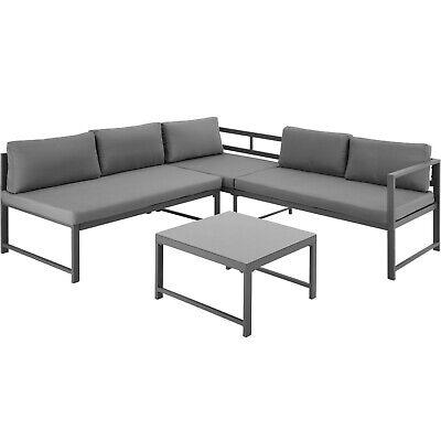 Hervorragend ALUMINIUM SITZGRUPPE SET Sofa Couch Lounge Balkon Gartenmöbel XR59