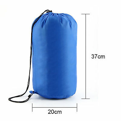 4Season Sleeping Bag Waterproof Single Suit Case Camping Hiking Outdoor Envelope 2