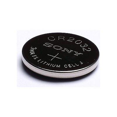 4 NEW SONY CR2032 3V Lithium Coin Battery Expire 2027 FRESHLY NEW - USA Seller