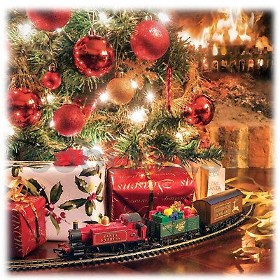 ... NEW HORNBY SANTA's EXPRESS ELECTRIC TRAIN SET ULTIMATE CHRISTMAS TREE DECORATION 3