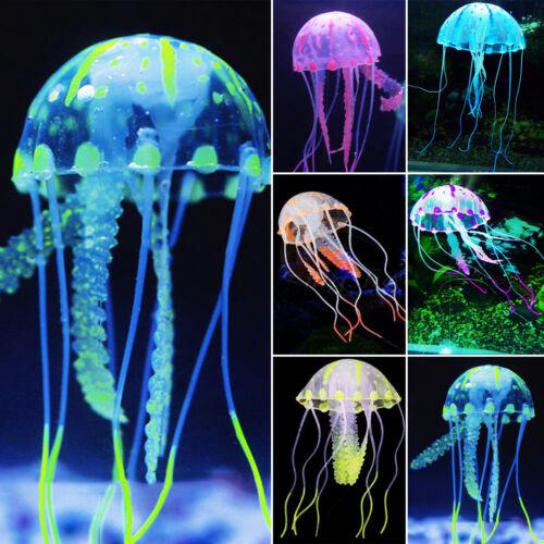 Unterwasser Deko.Künstlich Qualle Krake Koralle Aquarium Verzierung