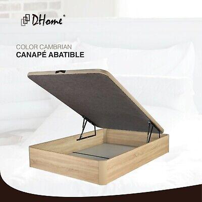 Canape Abatible tapizado 3D 4 VALVULAS AIREACIÓN, 29cm capacidad, canapé NUEVO 4