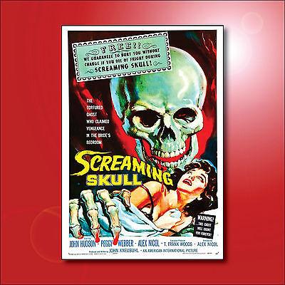 Hammer Horror fridge magnets classic Film Poster Set of 8 magnets No.1
