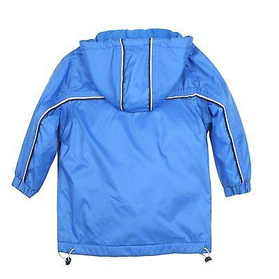 508fd387d ... Baby Boys Toddler Jacket Coat Hooded Blue Teddy Bear Stars & Stripes sz  1-6