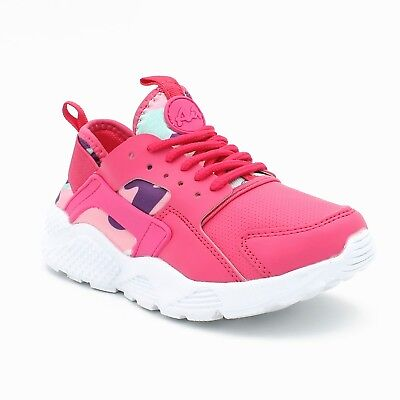 Kid's Athletic Sneakers Unisex Sport Shoes Running Tennis Lace Up Lightweight