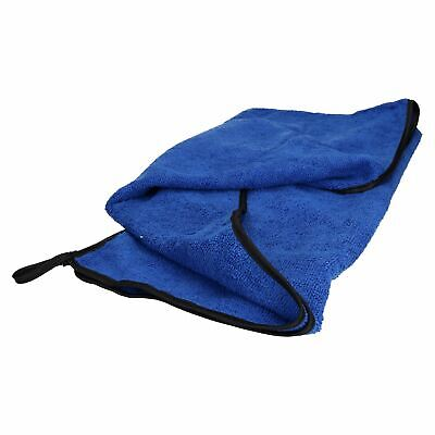 Microfibre Absorbent Pet Dog Travel Towel (Blue) 100x70cm 3