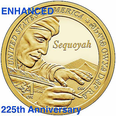 2018 S Reverse Native American Sacagawea New Gold Dollar $1 US Mint Set Via 18XC 6