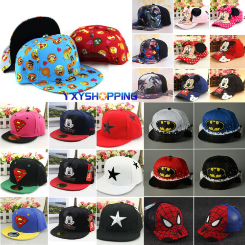 Baby Kids Boys Girls Baseball Cap Hip Hop Snapback Outdoor Sports Hat  Adjustable 2 2 of 11 ... df3d77766b10