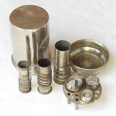 DREI-PFEIL MARKE - MAXIMUS antike Box für Spritzen und Nadeln Sterilisator WW2 6