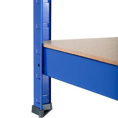 Étagère de Rangement Charge lourde Metallique Objets Atelier 5 Tablettes 875 kg