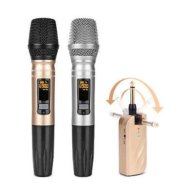 ASHTEC 1200w Bluetooth Mixer Amplifier Speakers Cordless Microphone Karaoke DJ 8