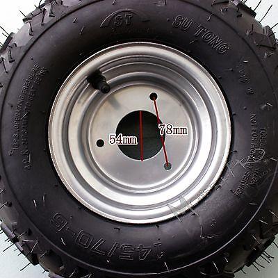 "4x 145/70- 6"" Inch Wheel Tyre Rim 50/70/90/110/125cc Quad Bike ATV Go Kart Mower"
