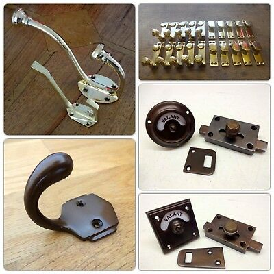 Brass Escutcheons Keyhole Cover Door Knobs Handles Lock Knocker Plate 12