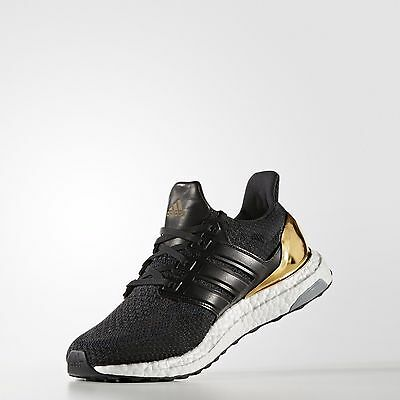 top fashion 0bf29 31032 ADIDAS ULTRA BOOST LTD Shoes BB3929 Olympic Gold Medal RARE Limited Edition