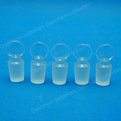 24/29,Solid Glass Stopper,Lab Plug,Lab Chemistry Glassware,5PCS/Lot 6