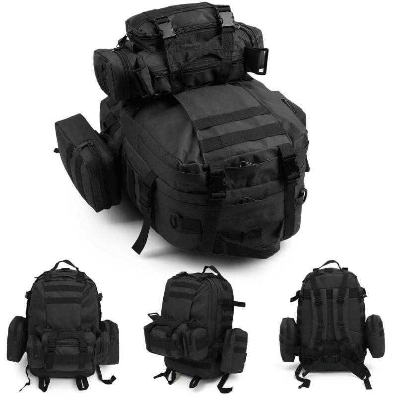 30L/40L/50L Military Tactical Army Rucksacks Molle Backpack Camping Hiking Bag 3