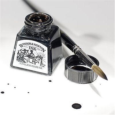 Winsor & Newton Artist Drawing Ink 14ml Brush, Dip Pen, Airbrush - 26 Colours