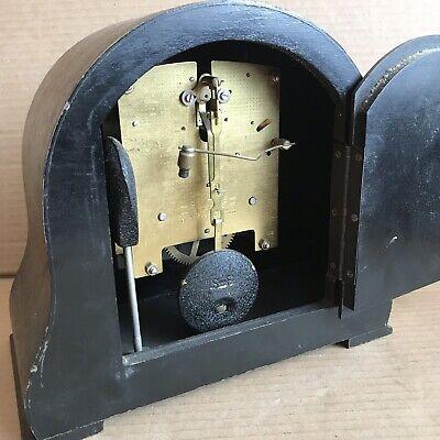 Vintage Smiths Mantle Clock - Pendulum Movement Marked 535 4