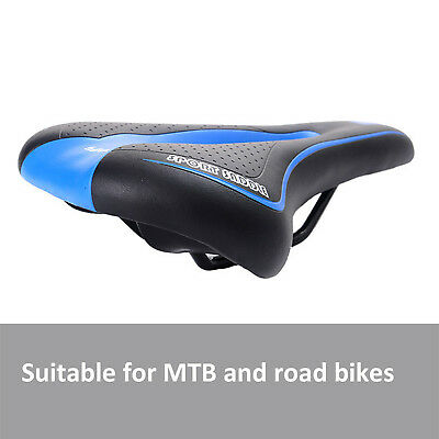 Bicycle Bike Cycle MTB Saddle Road Mountain Sports Soft Cushion Gel Pad Seat Red 6