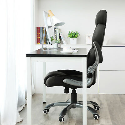 Office Chair Swivel Ergonomic Chair Foldable Armrests Computer Chair OBG65BK 3