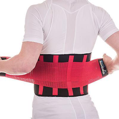 BackSoothers® BackPro Massaging Lumbar Lower Neoprene Back Support Brace Belt 3
