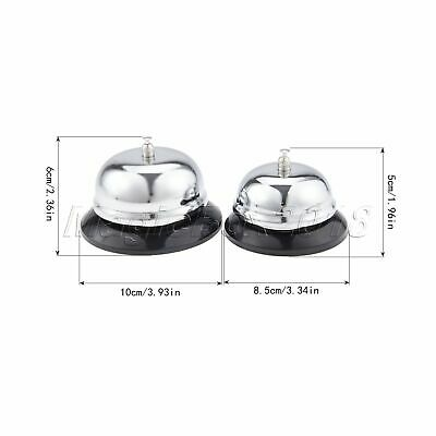 1Pc Desk Kitchen Hotel Counter Reception Restaurant Bar Ringer Call Bell Service 9