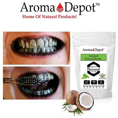 Activated Charcoal Powder Teeth Whitening Organic Bulk 100% Natural Food Grade 3