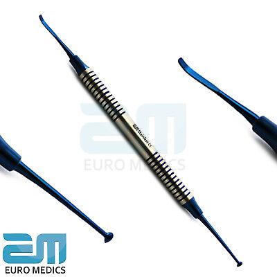 Dental Titanium Coated Composite Filling Plastic Placement Instruments CE 7