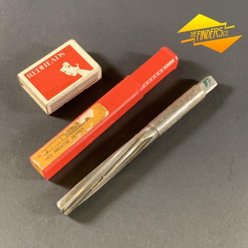 DORMER B1-01 12.00mm HSS MACHINE REAMER GOOD USED CONDITION #19 6