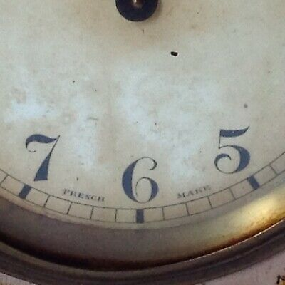 Antique Japanned Bayard D-B. 8 Day Lever Movement French Clock 4